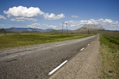 Mountain highway. Stock Photo