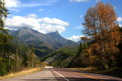 Mountain highway Royalty Free Stock Photos