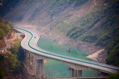 Mountain Highway Royalty Free Stock Image