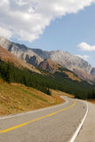 Mountain highway in fall Stock Photos