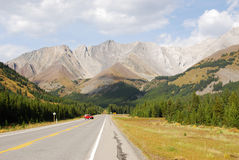 Mountain highway in fall Stock Image