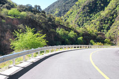 Mountain highway Royalty Free Stock Photos