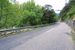 Mountain highway Royalty Free Stock Images