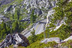 Mountain, Highway, Travel Stock Photography