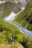 Mountain Hike Stock Image