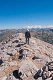 Mountain Hiker Royalty Free Stock Images