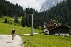 Mountain hiking Royalty Free Stock Photo