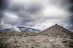 Mountain hiking in Norway Royalty Free Stock Photos