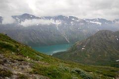 Mountain hiking in Norway Royalty Free Stock Image