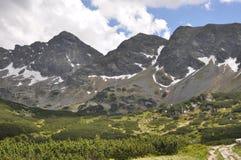 Mountain hiking trail Royalty Free Stock Photos