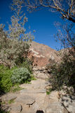 Mountain hiking trail Stock Photo