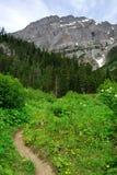 Mountain hiking trail Stock Image