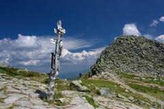 Mountain Hiking Trail - Chopok Stock Photography