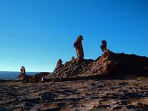 Mountain hills desert panorama Chile san Pedro de Atacama Stock Photography