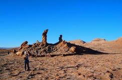 Mountain hills desert panorama Chile san Pedro de Atacama Royalty Free Stock Photography