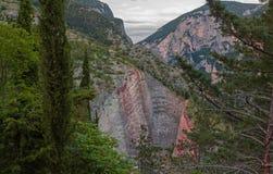 Mountain hills landscape Stock Images