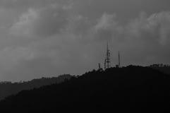 Mountain Hilly Background, Malaka, Malaysia. Mountain Hilly Background . Titiwangsa Range Royalty Free Stock Photos