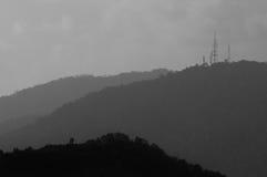 Mountain Hilly Background, Malaka, Malaysia. Mountain Hilly Background . Titiwangsa Range Stock Photos