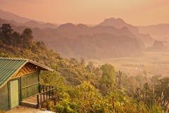 Mountain home Stock Photography