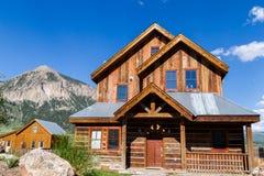 Mountain home Stock Image