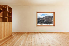 Mountain home, room Stock Image