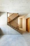 Mountain home, staircase Stock Photos