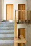 Mountain home, staircase Stock Image