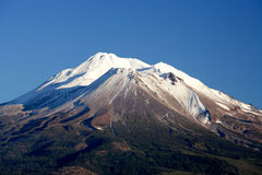 Mountain Hood. With snow cap in clear sky Stock Photo