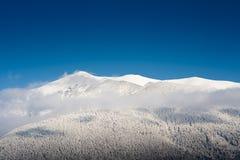 Mountain horizon Stock Images
