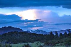 Mountain Horizon View Royalty Free Stock Photo