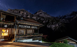 Mountain Hostel Stock Image