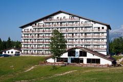 Mountain hotel Royalty Free Stock Photography