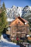 Mountain hotel Bilikova chata in High Tatras, Slovakia Royalty Free Stock Photos