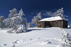 Mountain house stock photography