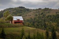 Mountain house Stock Image