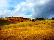 Mountain house Royalty Free Stock Photo