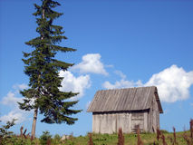 Mountain house Royalty Free Stock Photography