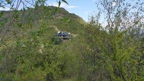 Mountain house. Beautiful house at Mountain córdoba Argentina royalty free stock photo