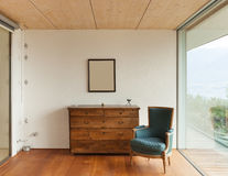 Mountain house, interior Royalty Free Stock Images