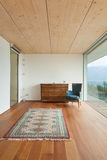 Mountain house, interior Royalty Free Stock Photography