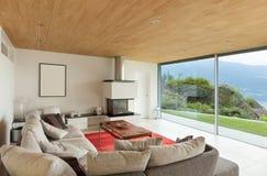 Mountain house, interior Stock Photo
