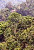 Mountain house landscape Stock Photos