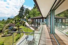 Mountain house, outdoor Royalty Free Stock Photos