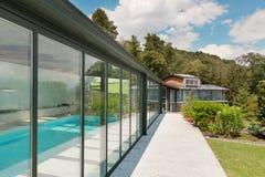 Mountain house, outdoor Stock Photography