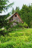 Mountain house Stock Images