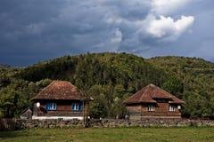 Mountain houses Stock Photography