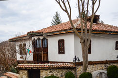 Mountain houses Royalty Free Stock Image