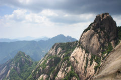 Mountain huangshan peak stock photography