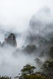 Mountain Huangshan scenery. Stock Photography