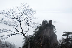 Mountain Huangshan scenery. Stock Images